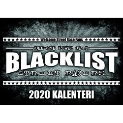 Blacklist 2020 Kalenteri