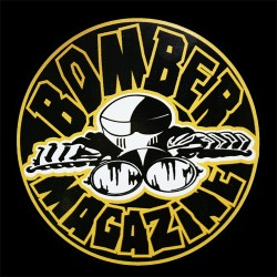 Bomber Magazine Pyöreä Tarra, 10cm